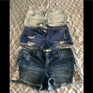 Bundle of 3 Pairs of Shorts